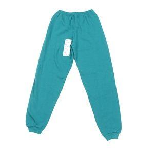 NOS Vtg 90s Streetwear Sweatpants Joggers Green